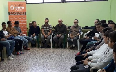 Charla de sensibilización y prevención de Grupo Martes en Cartagena