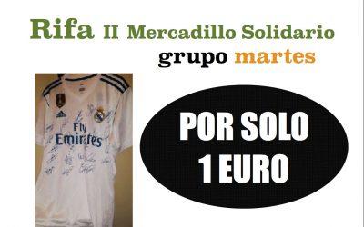Rifa Mercadillo Solidario Grupo Martes