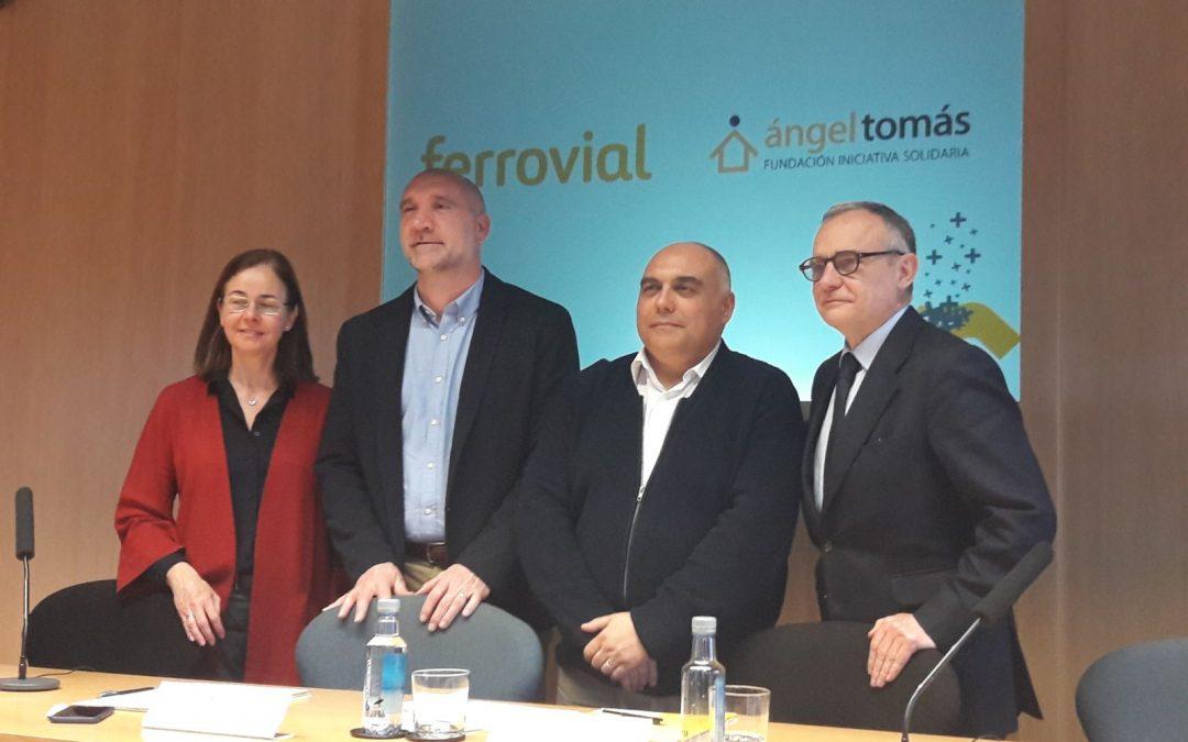 Ferrovial apoya el proyecto del Centro formativo de Hostelería de la Fundación Ángel Tomás