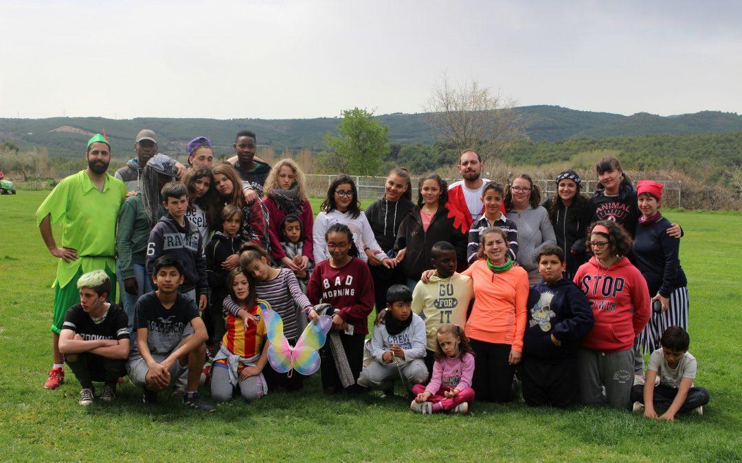 Las vacaciones de Pascua refuerzan los lazos entre jóvenes y educadores de los proyectos