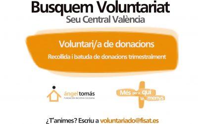 Uneix-te al nostre equip de voluntariat