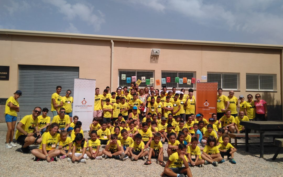 Cuenta atrás para el inicio de los campamentos urbanos de Cartagena y Elche