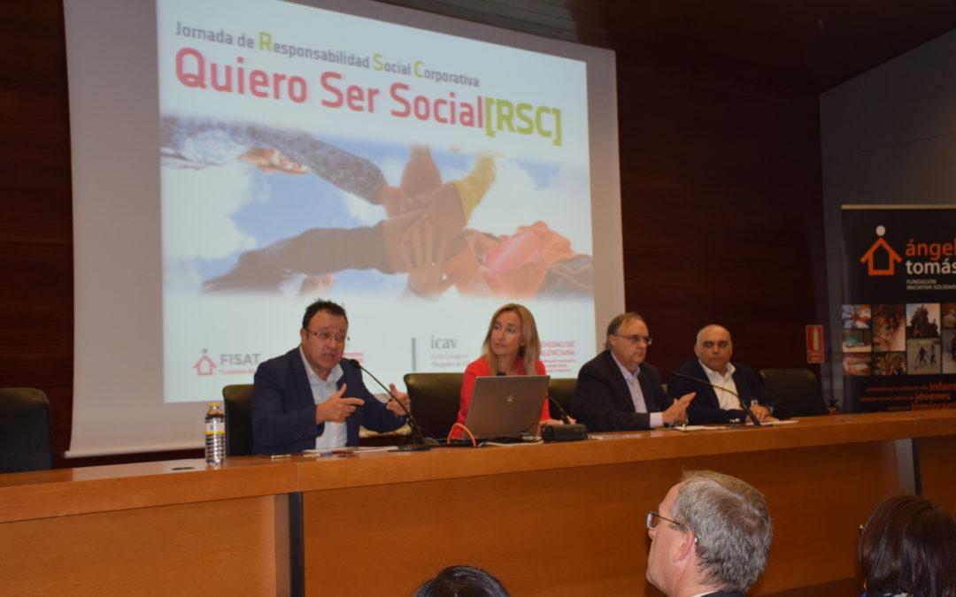 La Jornada QRSC apuesta por el encuentro entre empresas y Tercer Sector para favorecer el desarrollo de la RSC