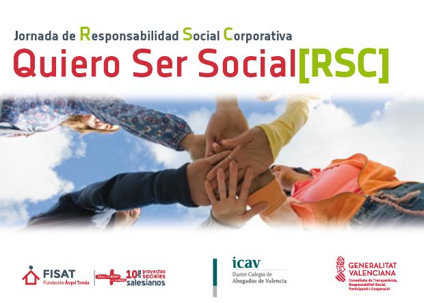 La Universidad Politécnica, Cámara Valencia y expertos en RSC participarán en la I Jornada de RSC e inserción sociolaboral de la Fundación Ángel Tomás