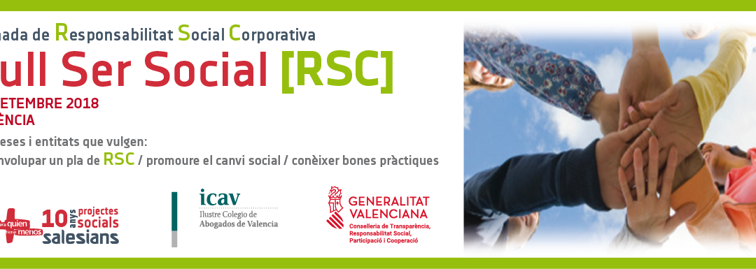 La Universitat Politècnica, Càmera València i experts en RSC participaran en la I Jornada de RSC i inserció sociolaboral de la Fundació Ángel Tomás