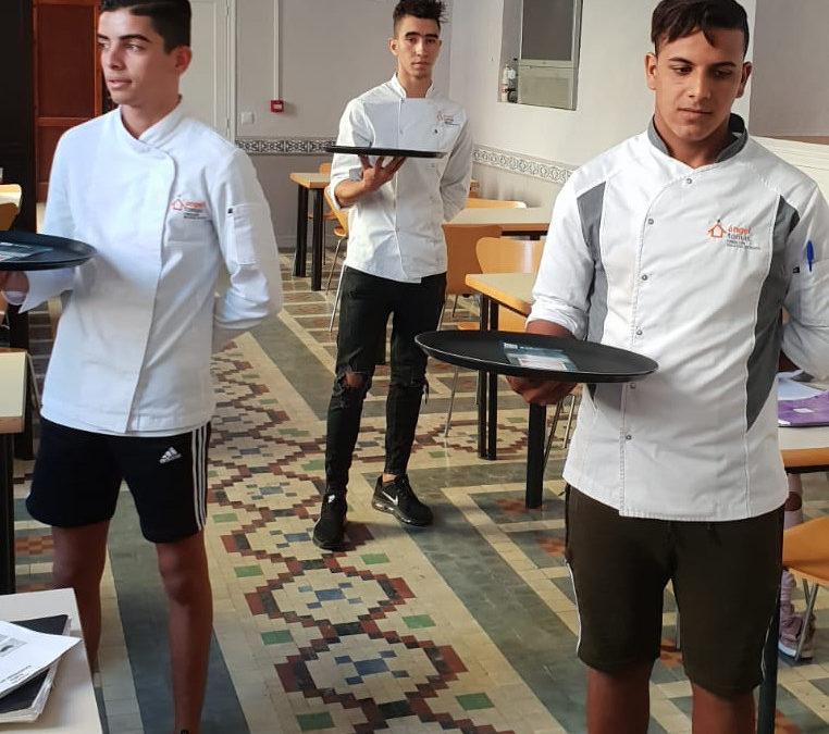 El nuevo curso del Taller de Hostelería estrena las instalaciones del Centro Domingo Savio