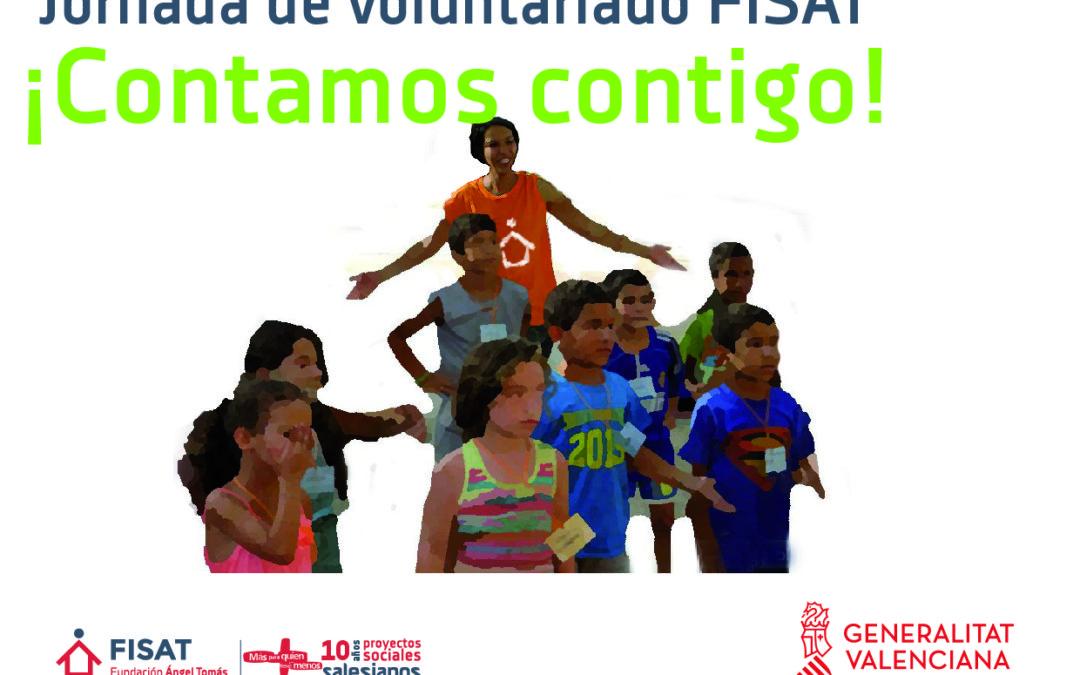 I Jornada de voluntariado FISAT. ¡Contamos contigo!
