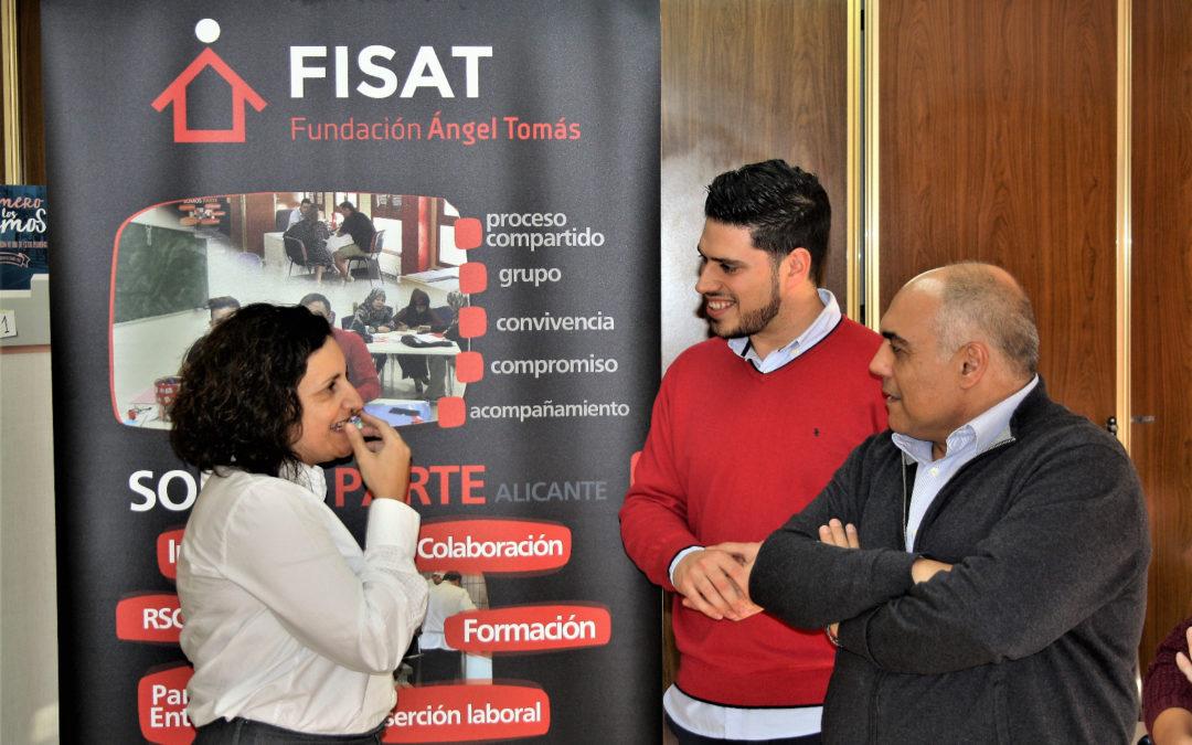 Somos Parte Alicante recibe la visita de Inmaculada Carda, directora general de Inclusión social
