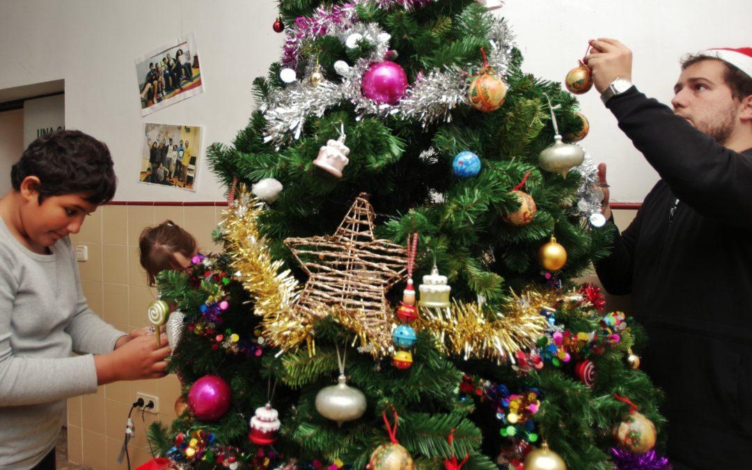 Ya huele a Navidad en los proyectos de la Fundación