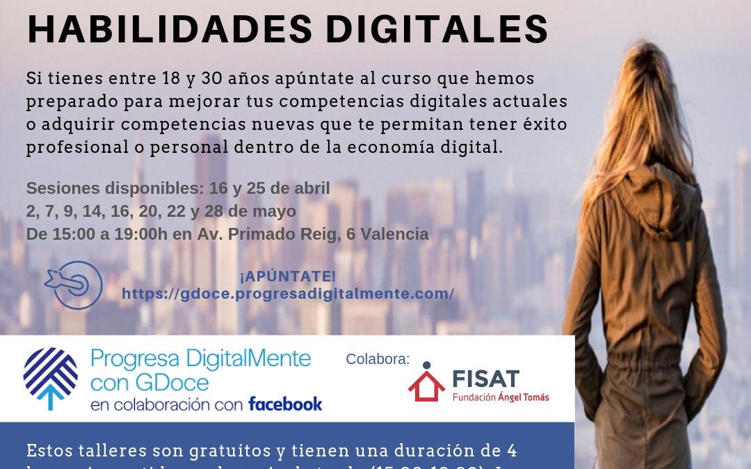 FISAT acoge los cursos de habilidades digitales de Facebook en Valencia