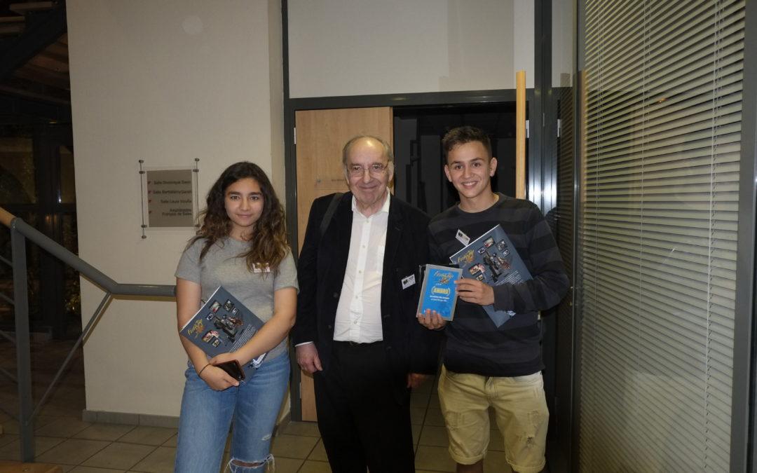 El Taller de Cinema Don Bosco de FISAT guanya el premi a Millor pel·lícula estrangera en el Festiclip de Lió