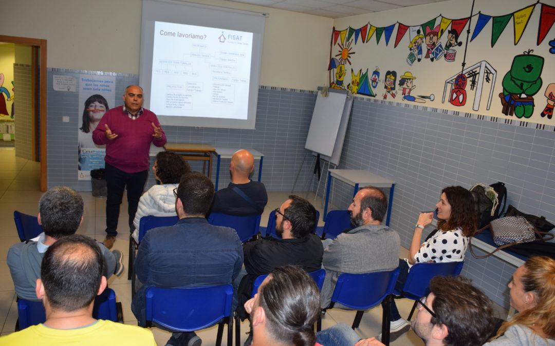 FISAT se presenta como un modelo a seguir por las plataformas sociales de Italia meridional