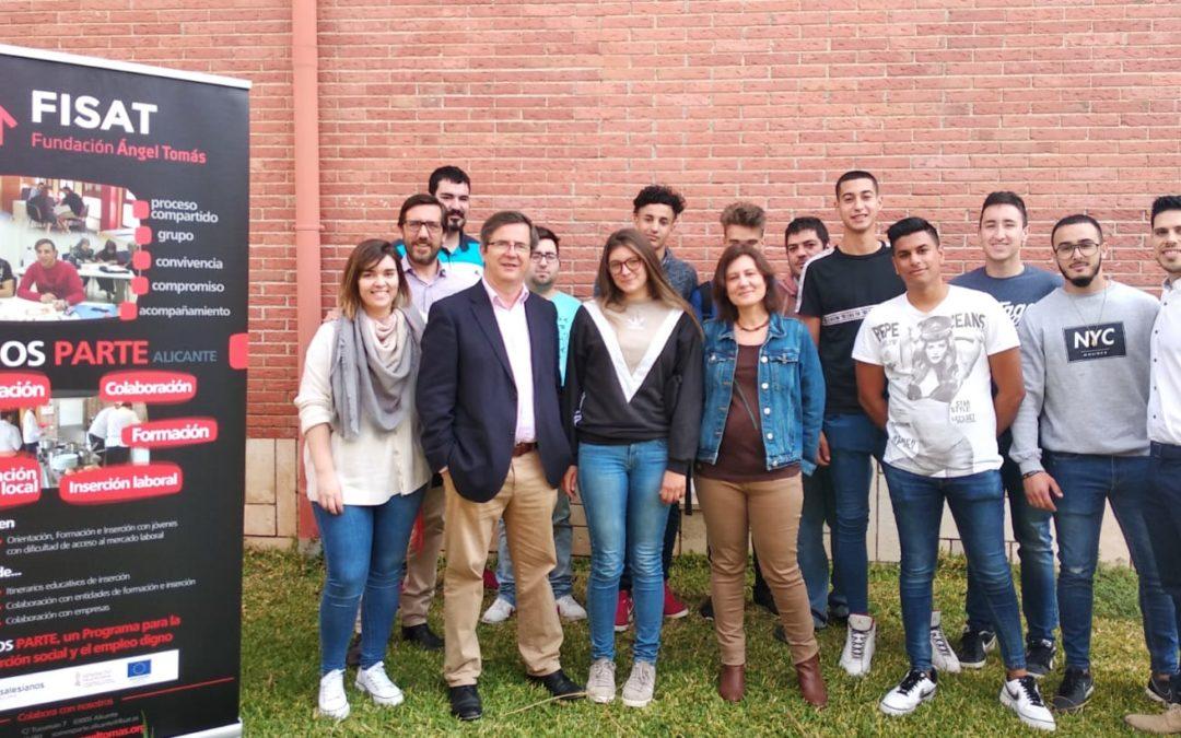 FISAT y el Ayuntamiento de El Campello inician un curso de inserción sociolaboral
