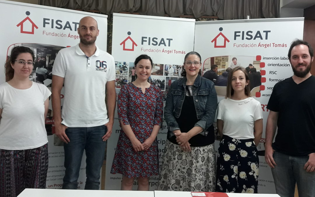 15 persones destinatàries de FISAT comencen el procés d'inserció laboral a través de la col·laboració amb Fundación Integra