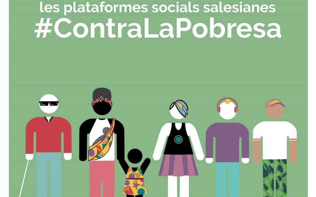 Les Plataformes Socials Salesianes #ContraLaPobresa exigeixen situar les persones en el centre de les agendes polítiques per a reduir la pobresa i les desigualtats
