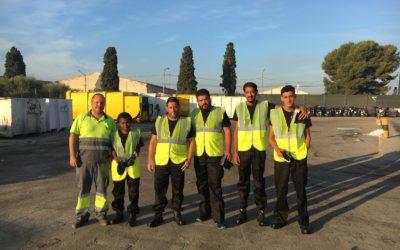 La motivación se apodera de los aprendices de peón de triaje en la Escuela de Oficios de Alicante