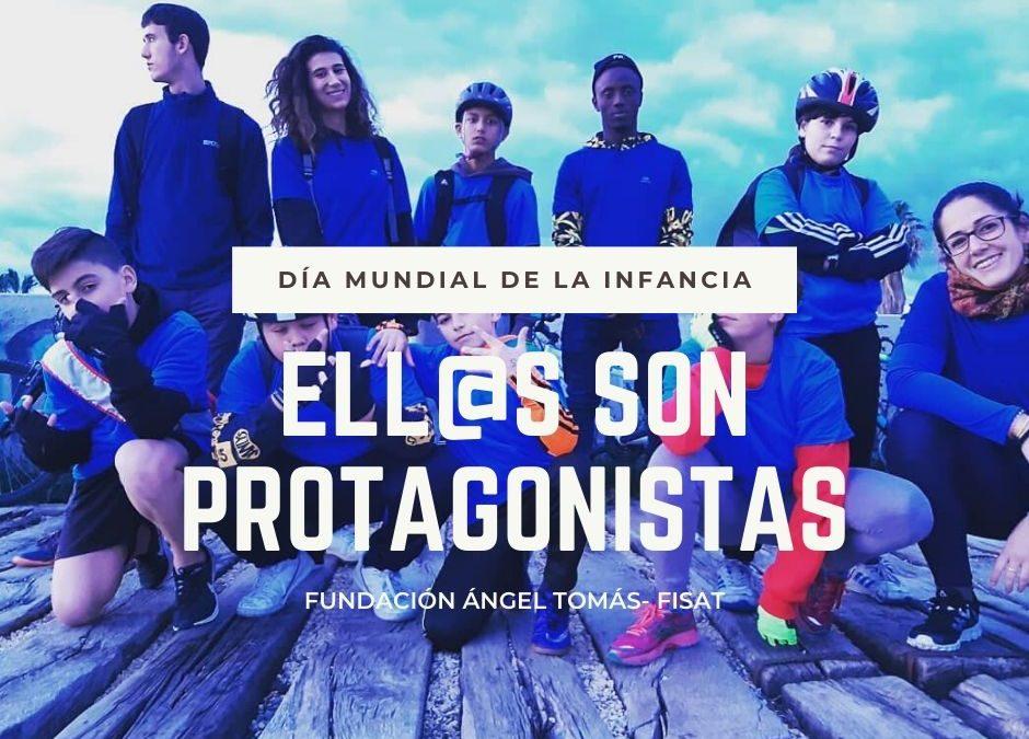 La Fundación Ángel Tomás celebra el valor de las niñas y niños que son protagonistas de su desarrollo