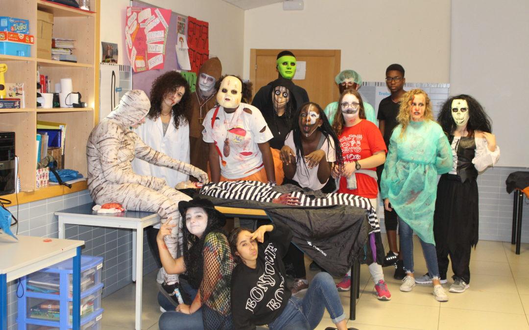 Halloween en el Centre de Dia Don Bosco: Truc o tracte?