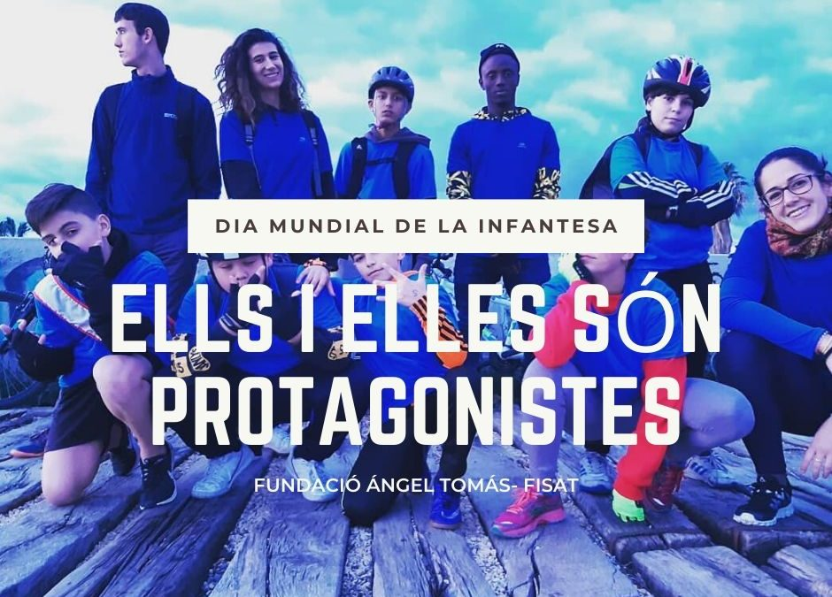 La Fundació Ángel Tomás celebra el valor de les xiquetes i xiquets que són protagonistes del seu desenvolupament