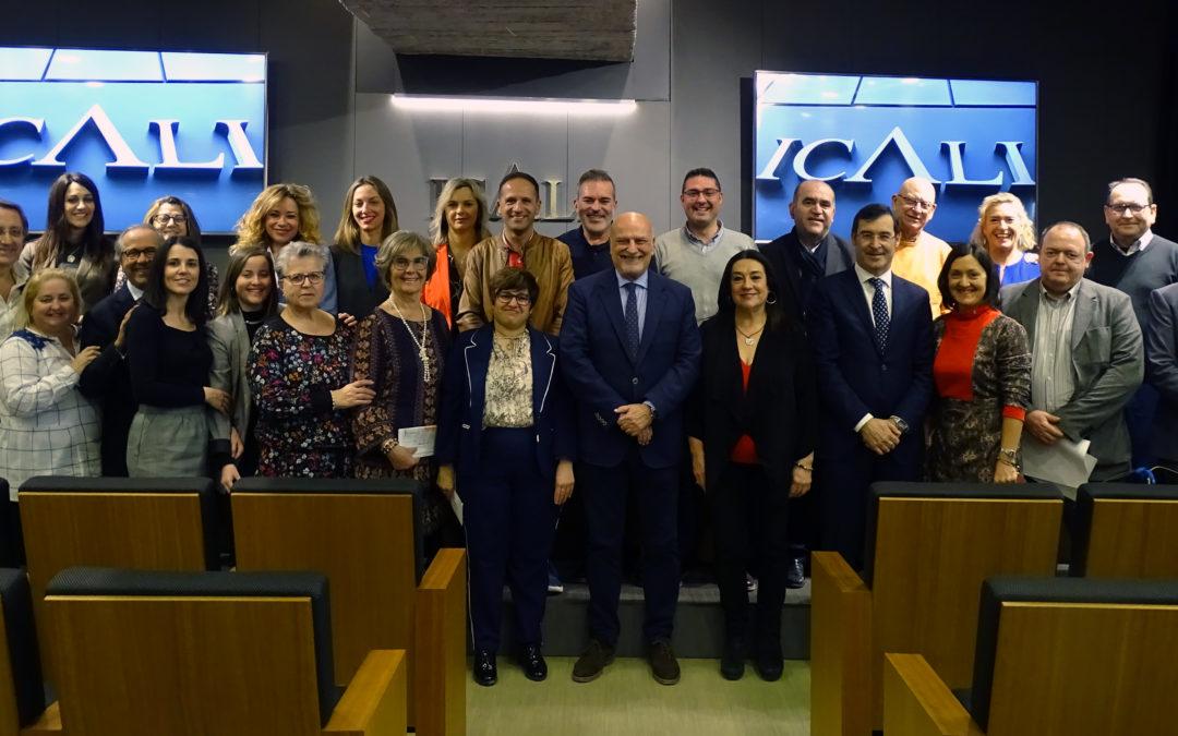 El ICALI apoya la labor de los proyectos Somos Parte y Alraso de FISAT Alicante