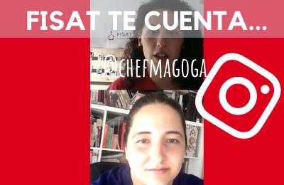 """@chefMagoga: """"La primera oportunidad es muy importante. Gracias a ella ahora hago la cocina que me gusta"""""""