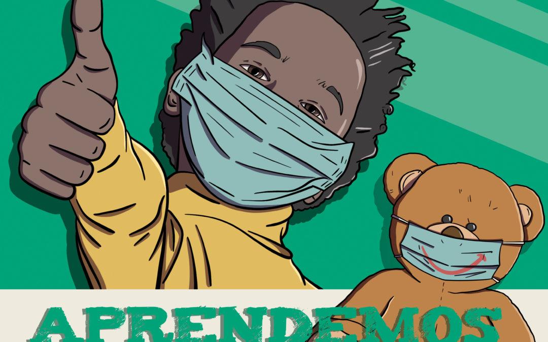 #AprendemosDeTi. En el Día de la Infancia ponemos en valor el comportamiento ejemplar de niños y niñas durante la pandemia de la COVID-19