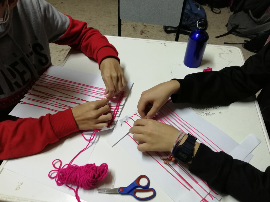 L'Ajuntament de Borriana i el PAE Porta Oberta tixen per la prevenció de la violència de gènere