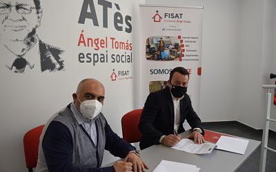 La Fundació Ángel Tomás i STV Gestió inicien una col·laboració per la inserció sociolaboral