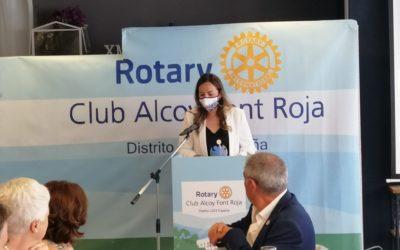 Rotary Club Font Roja d'Alcoi premia el treball de Judit Pla al capdavant del PAE Don Bosco
